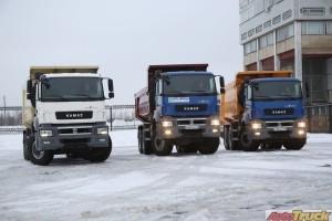 В марте на Камском автозаводе  начнут пробную сборку новых моделей тяжелых грузовиков.