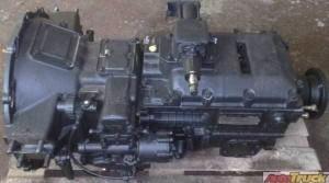 КПП 154 (5-ти ступенчатая с пневмоделителем и насосом гидровлического подъёма кузова на раздатке
