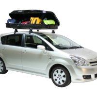 Автобокс на крышу Yuago Cosmo 480 литров (белый)