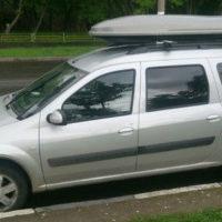 Автобокс Yuago Cosmo 480 литров (чёрный)