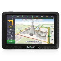 Навигатор автомобильный  Lexand CD5HD Navitel, 5″ TFT, GPS, сенсор, Navitel