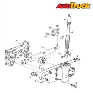 Схема рулевого механизма SCANIA